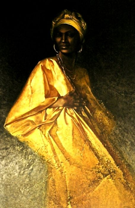 PORTRAIT 51 - WEARING GOLD